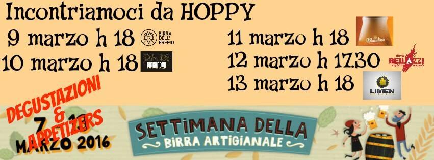 settimana della birra artigianale hoppy tana