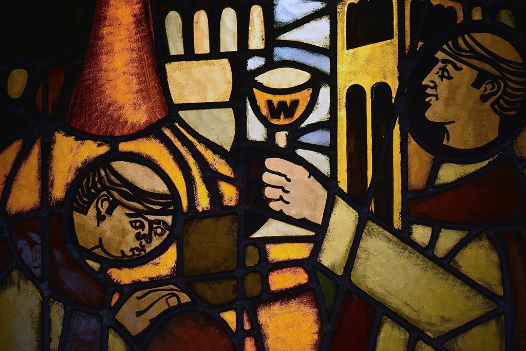 westmalle abbazia birrificio vetrata